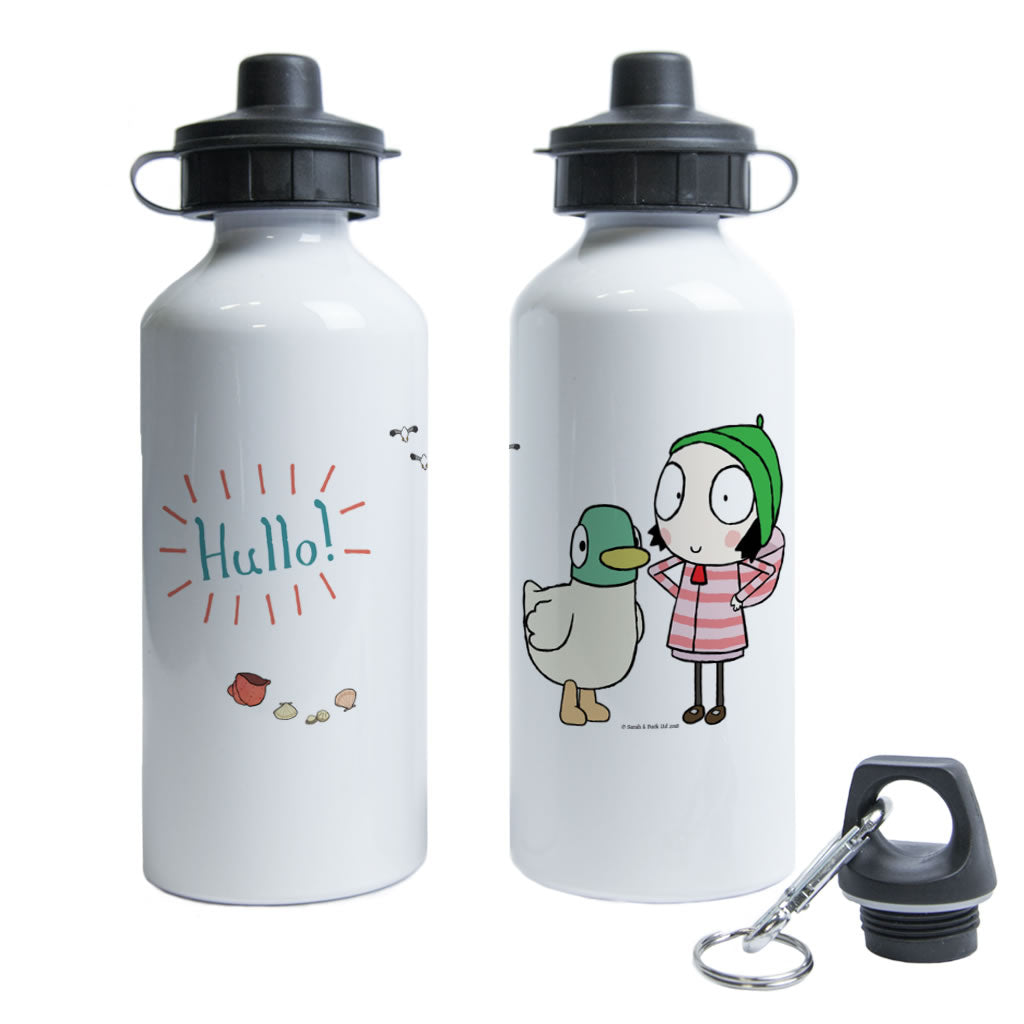 Hullo! Sarah and Duck Water Bottle