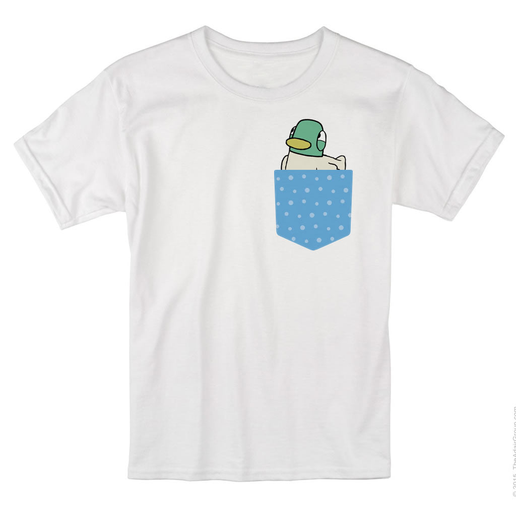 Sarah & Duck Blue Pocket T-shirt