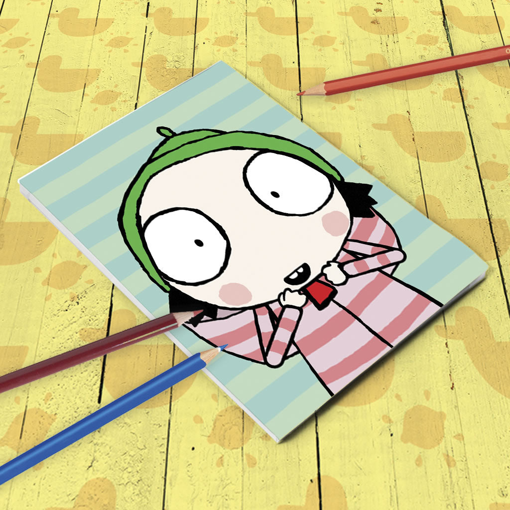 Sarah & Duck A5 Notepad Lifestyle