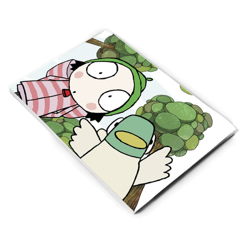 Sarah & Duck A5 Notepad