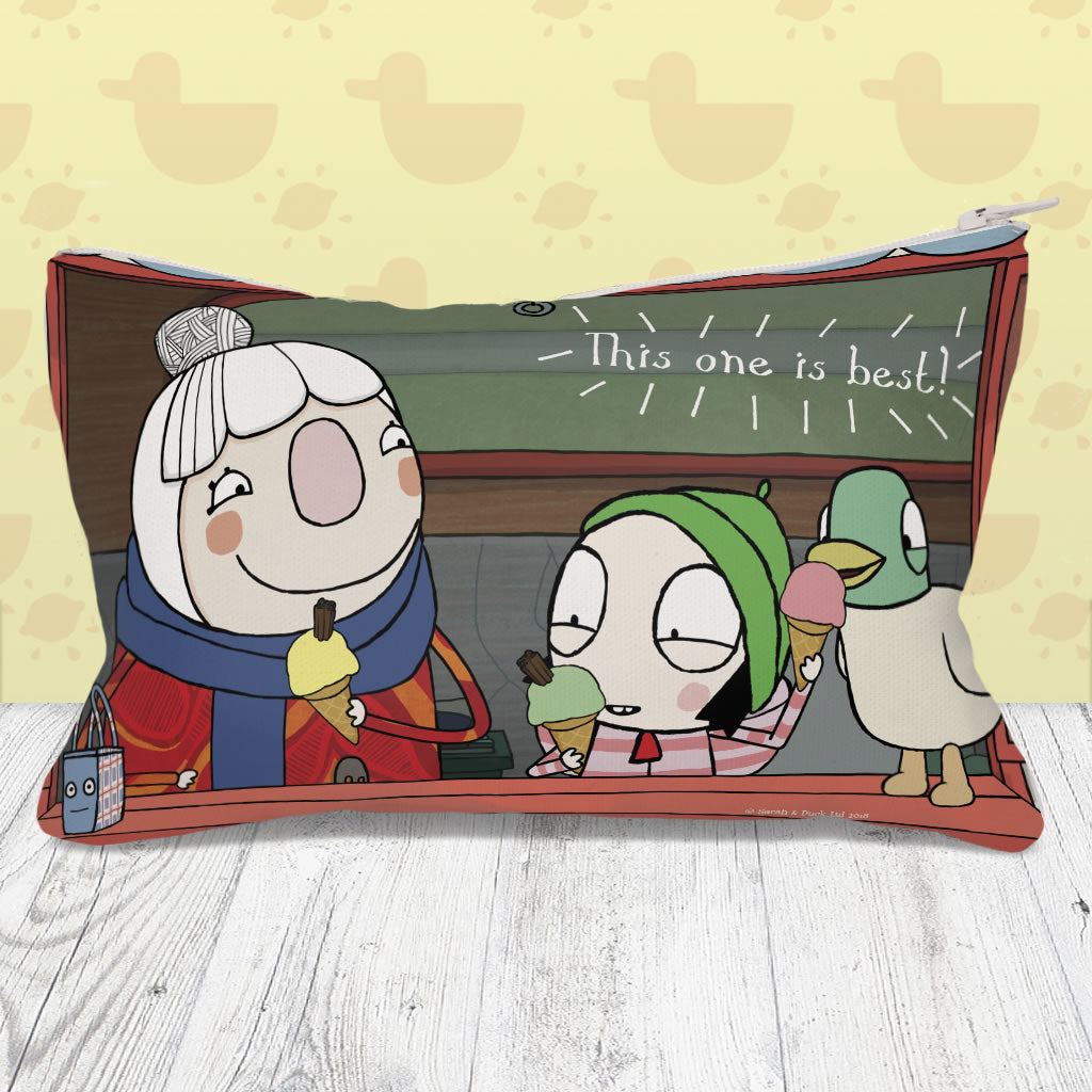 Sarah & Duck Pencil Tin Lifestyle