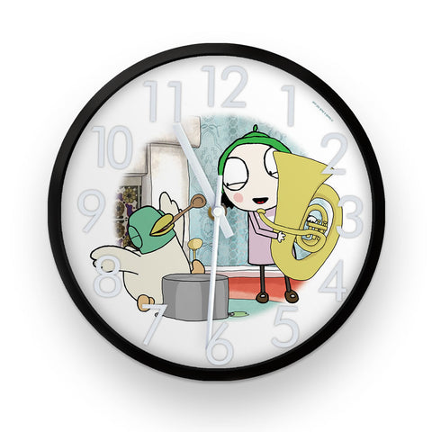 Sarah & Duck Music Time Clock