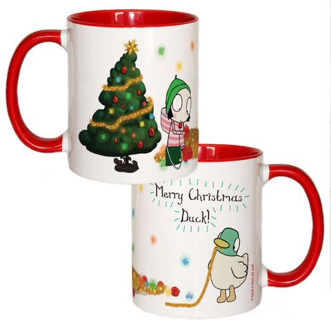 Sarah & Duck Colour Insert Mug