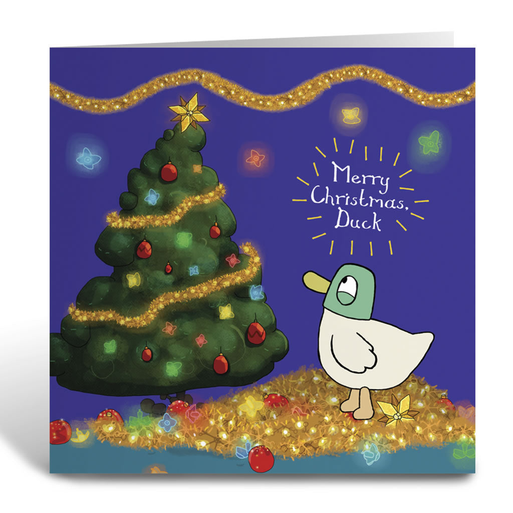 Sarah & Duck Greetings Card