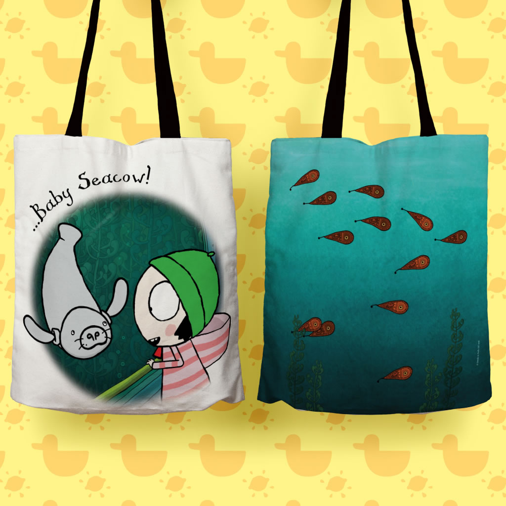 Sarah & Duck Totebag Lifestyle