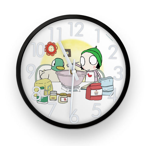 Sarah & Duck Let's Bake Clock