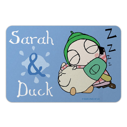 Personalised Sleepy Sarah & Duck Door Plaque