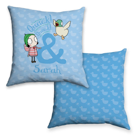 Personalised Quack! Quack! Cushion