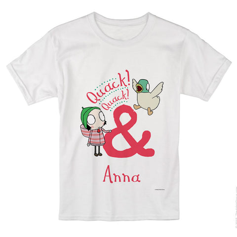 Personalised Quack! Quack! T-Shirt