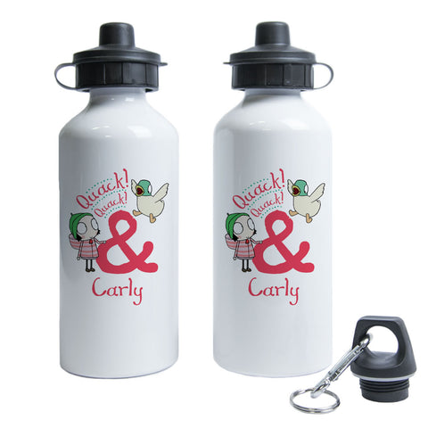 Personalised Quack! Quack! Water Bottle
