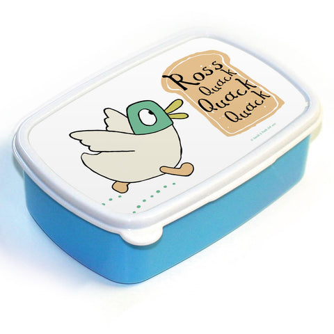 Personalised Quack Quack Quack Lunch Box