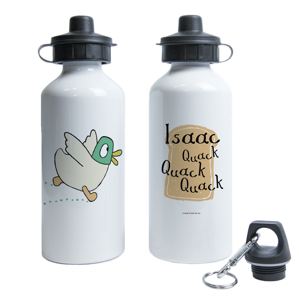 Personalised Quack Quack Quack Water Bottle
