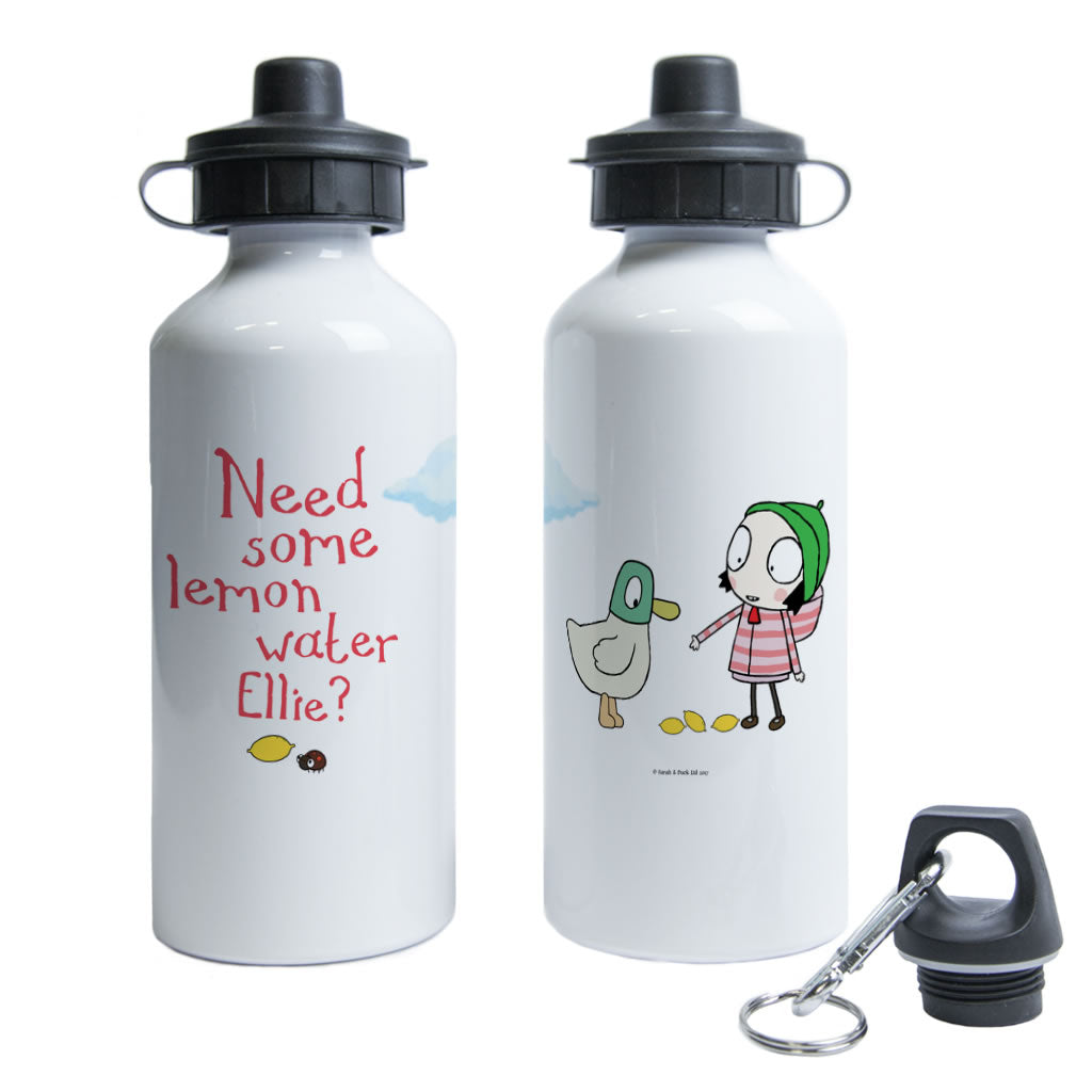 Personalised Need some lemon water? Water Bottle