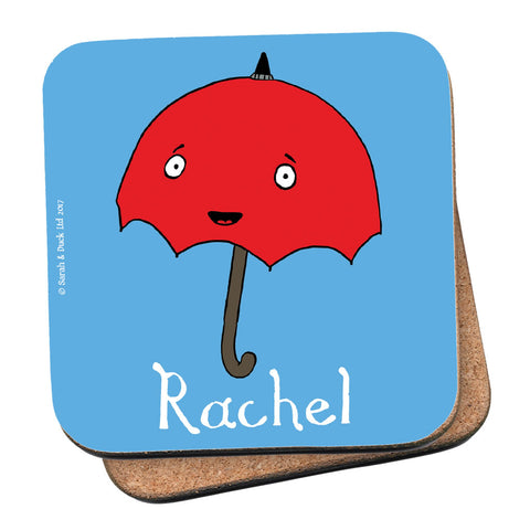 Personalised Umbrella Coaster