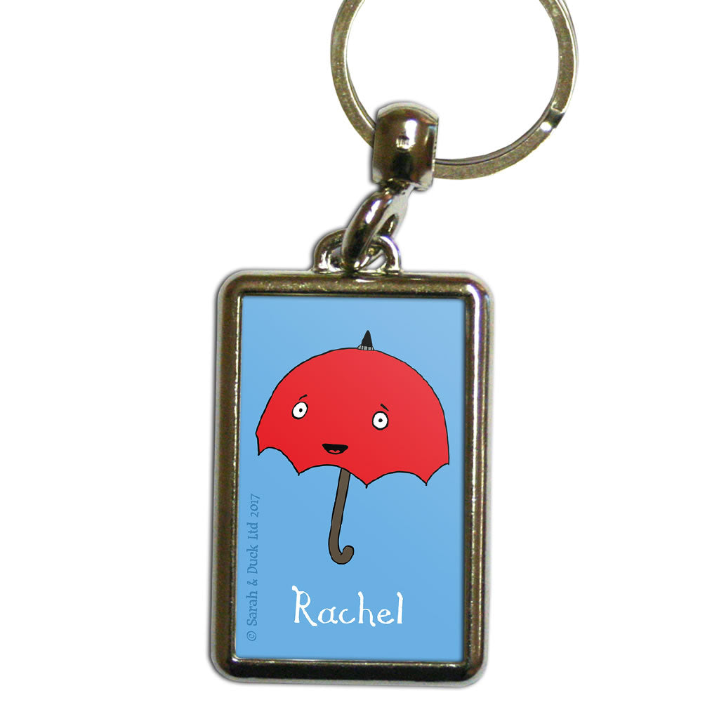 Personalised Umbrella Keyring