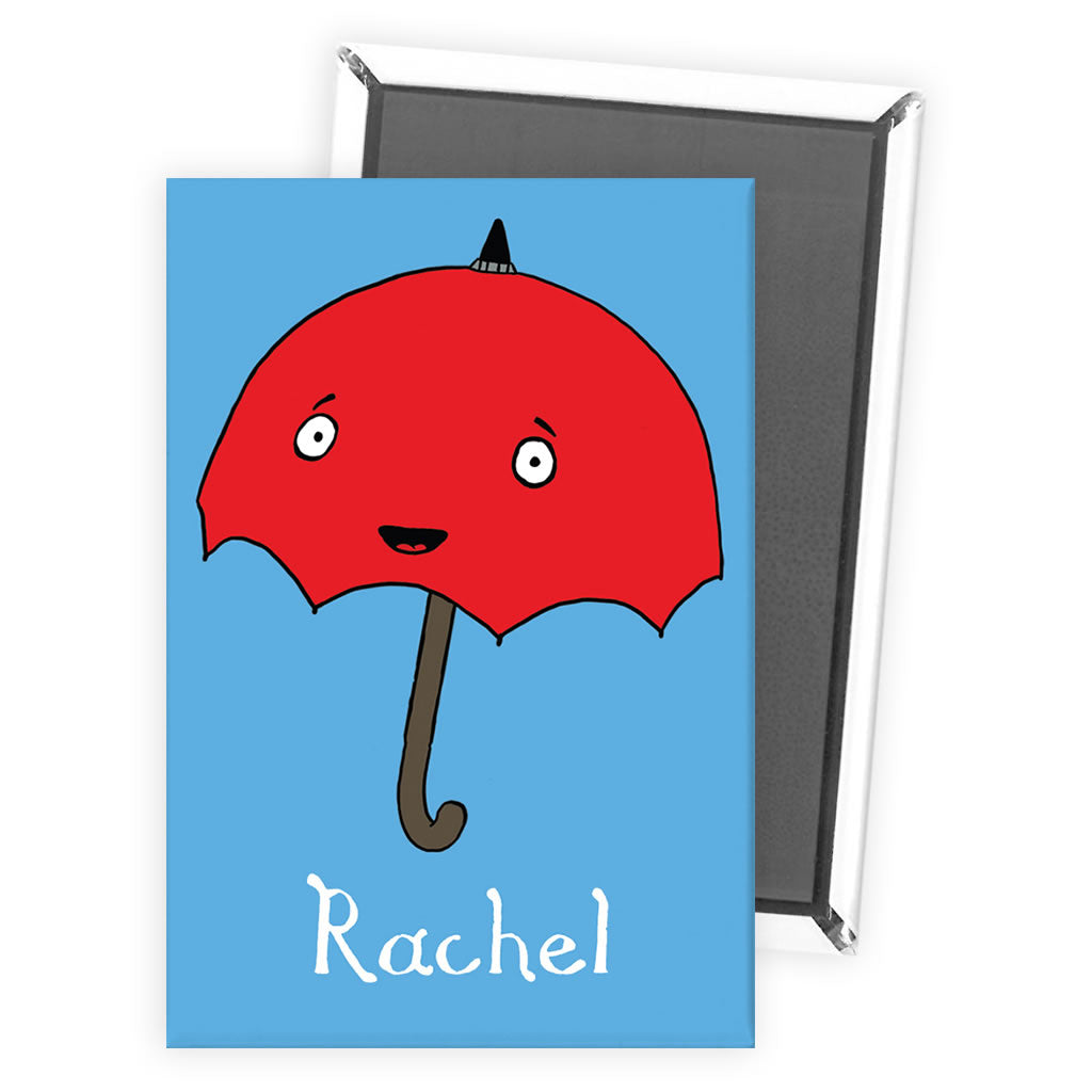 Personalised Umbrella Magnet