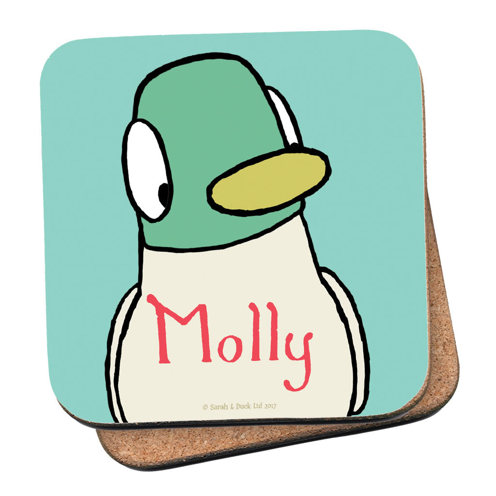 Personalised  Duck Coaster