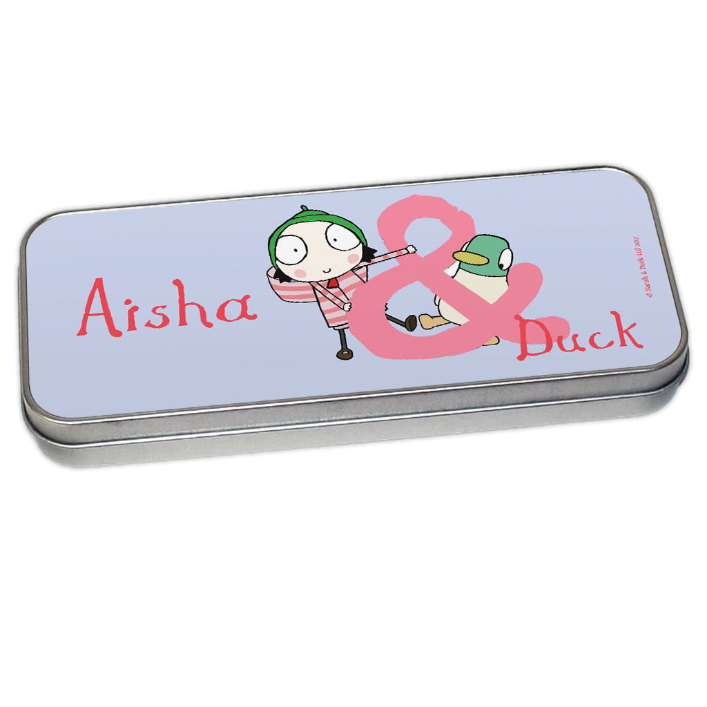 Purple Sarah & Duck Pencil Tin