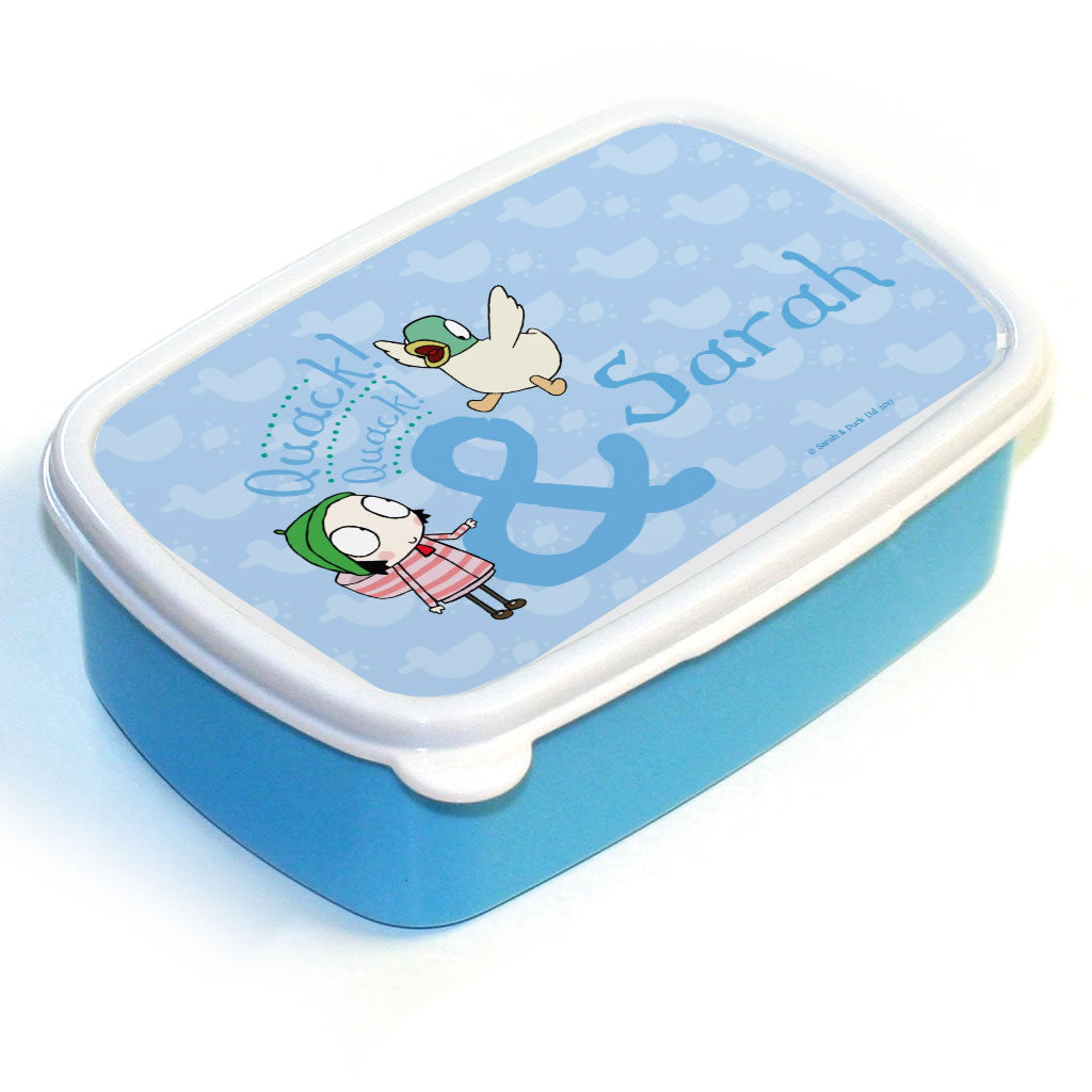 Personalised Duck Lunch Box