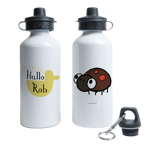 Personalised Duck's Great Idea Water Bottle