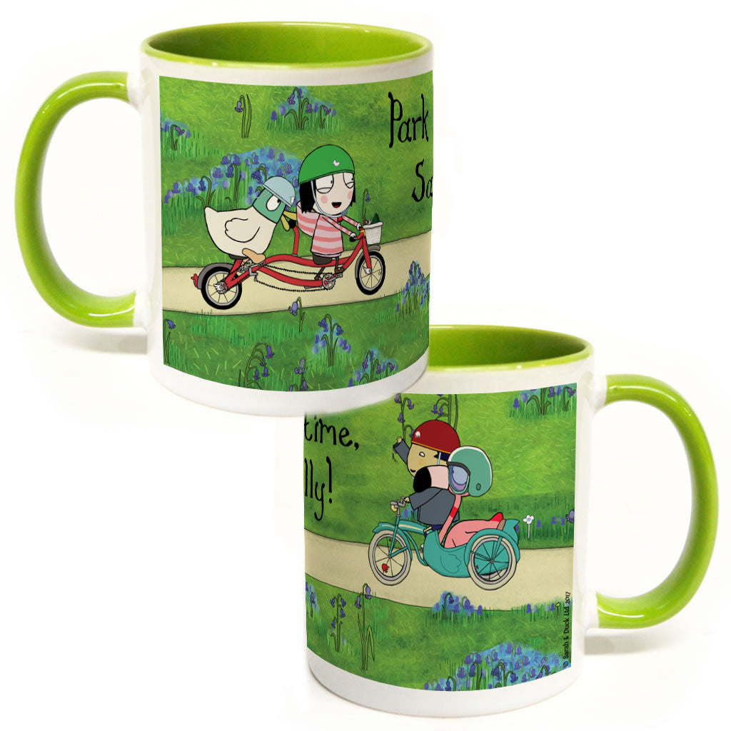 Personalised Park Time Colour Insert Mug