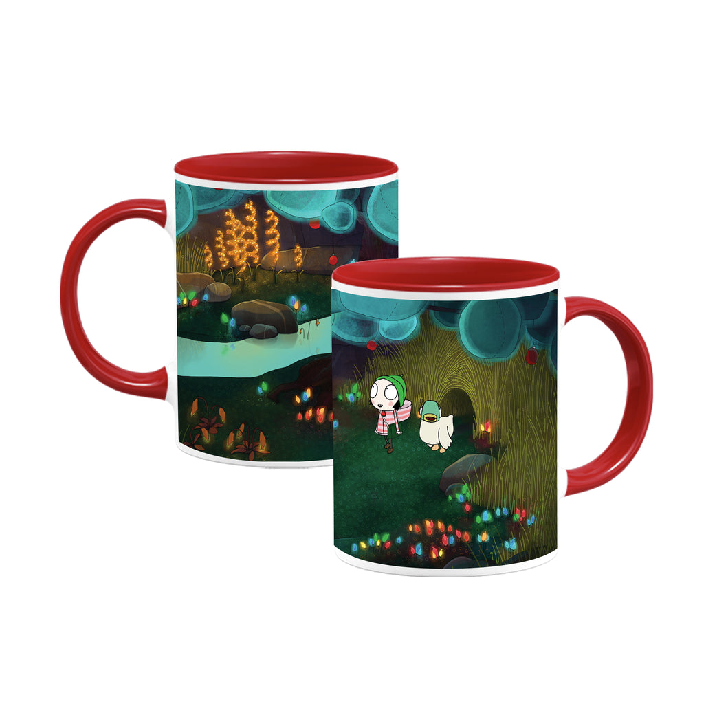 Sarah & Duck Lights Colour Insert Mug