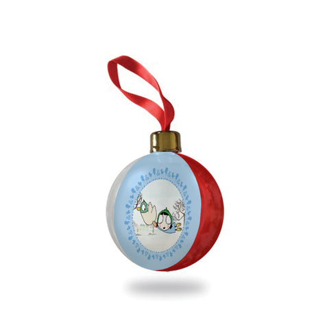 Sarah & Duck Flying Bauble