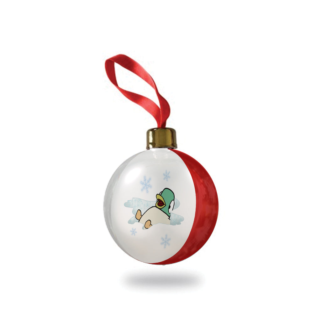 Sarah & Duck - Duck in the Snow Bauble