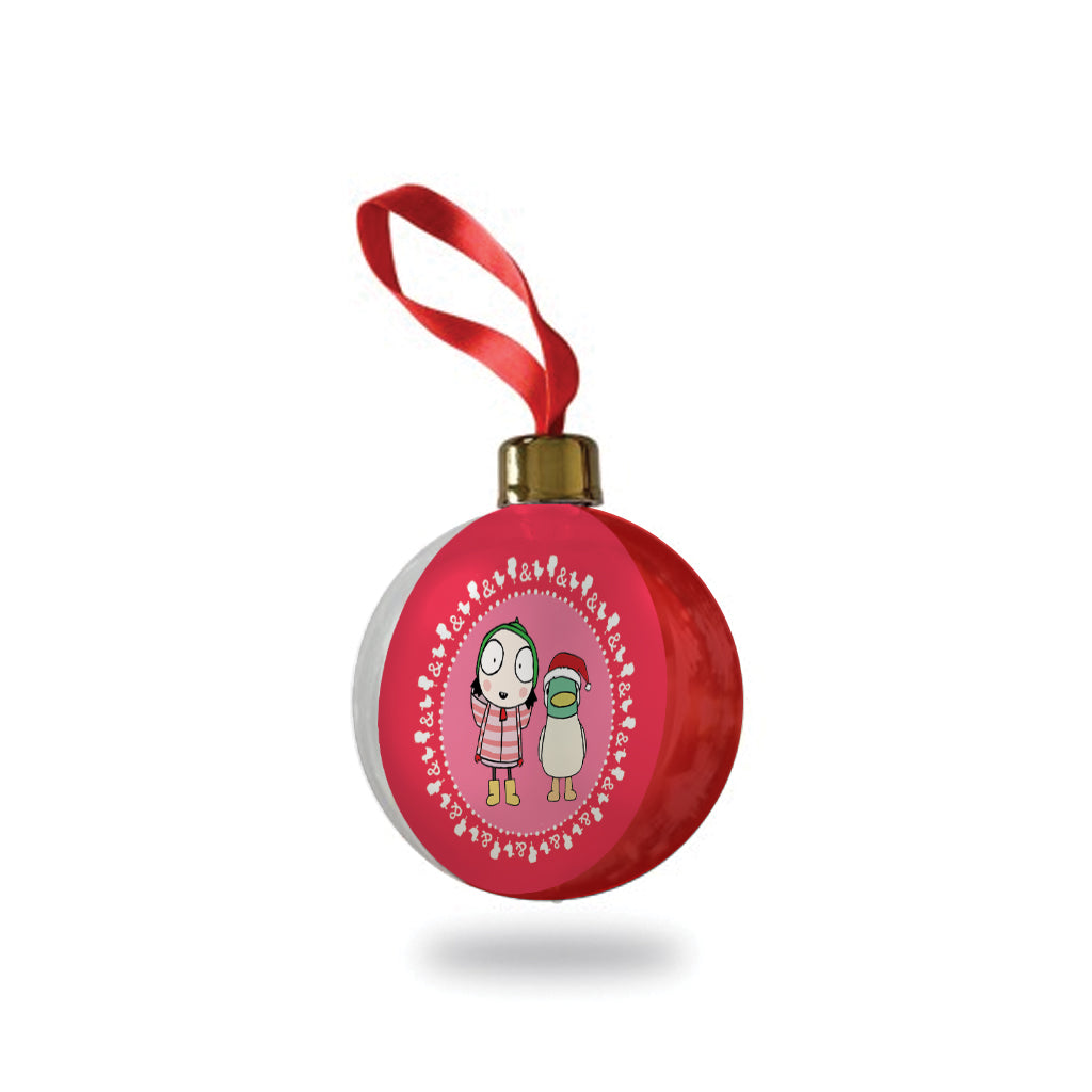 Sarah & Duck Christmas Bauble