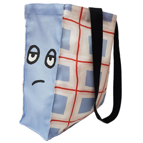 Sarah & Duck Scarf Lady's Bag Edge to Edge Tote
