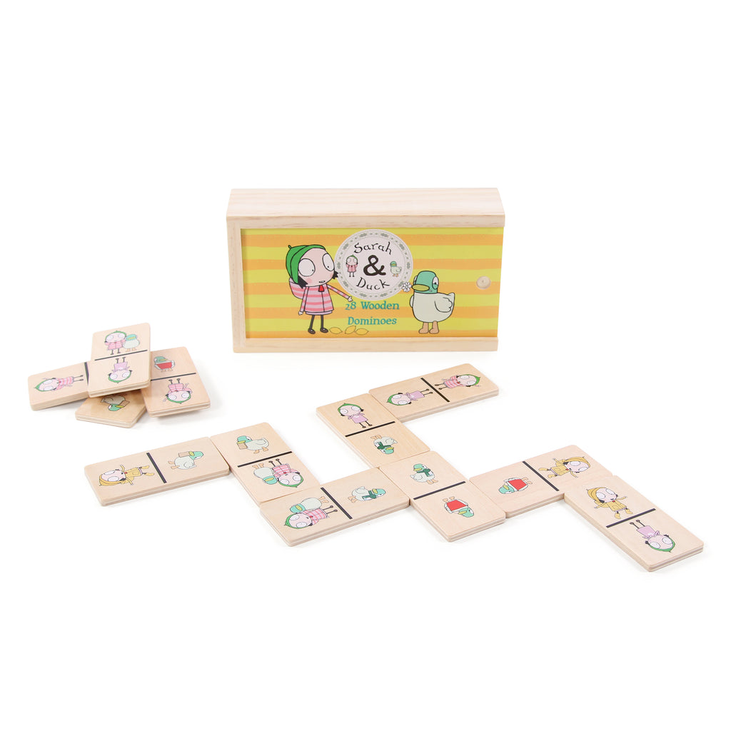 Sarah & Duck Picture Dominoes