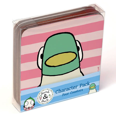 Sarah & Duck Coaster Set