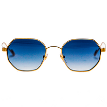EL RAYO - Yellow Gold/Deep Blue Gradient