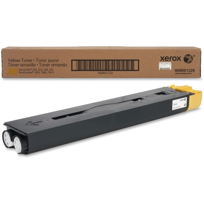Xerox 006R01220 (6R1220) Standard Yield Yellow Toner Cartridge