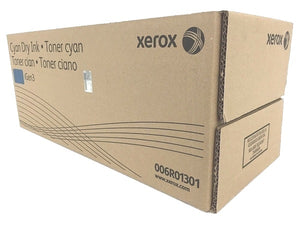 Xerox 006R01301 (6R1301) Standard Yield Cyan Dry Ink Toner Cartridge