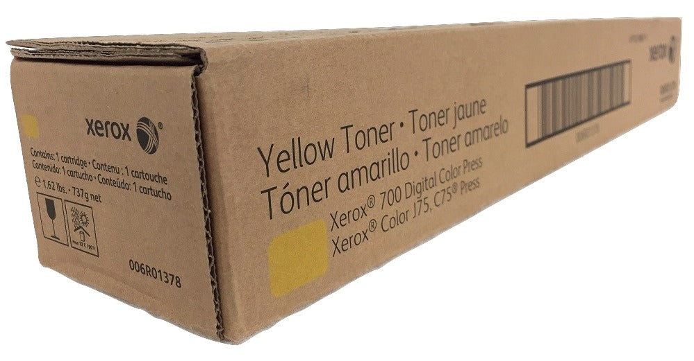 Xerox 006R01378 (6R1378) Yellow Toner Cartridge