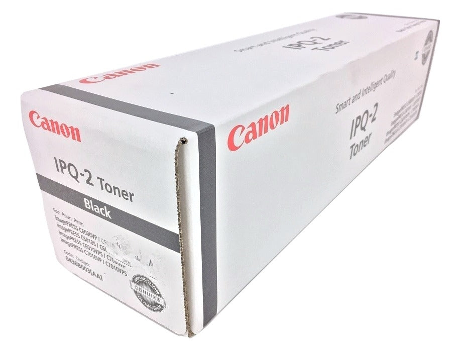 Canon 0436B003AA (IPQ-2) Black Toner Cartridge