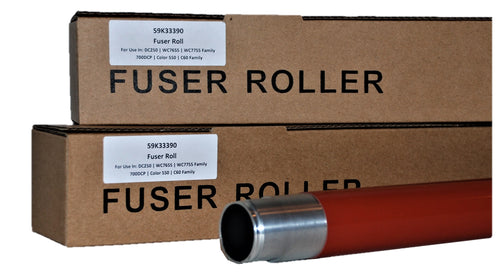 Xerox 059K33390 Fuser Upper Heat Roller Part