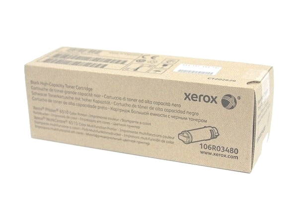 Xerox 106R03480 Black High Capacity Toner Cartridge
