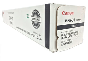 Canon 2790B003 (GPR-31) Black Toner Cartridge