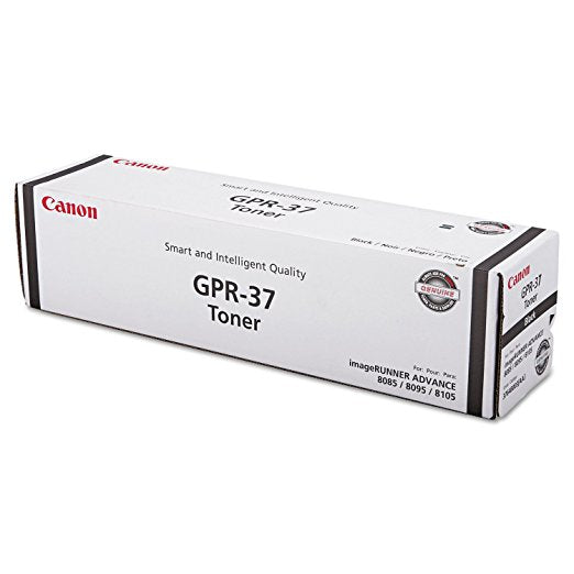 Canon 3764B003 (GPR-37) Black Toner Cartridge