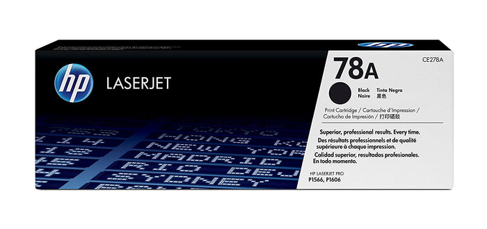HP 78A (CE278A) Standard Yield Black Toner Cartridge