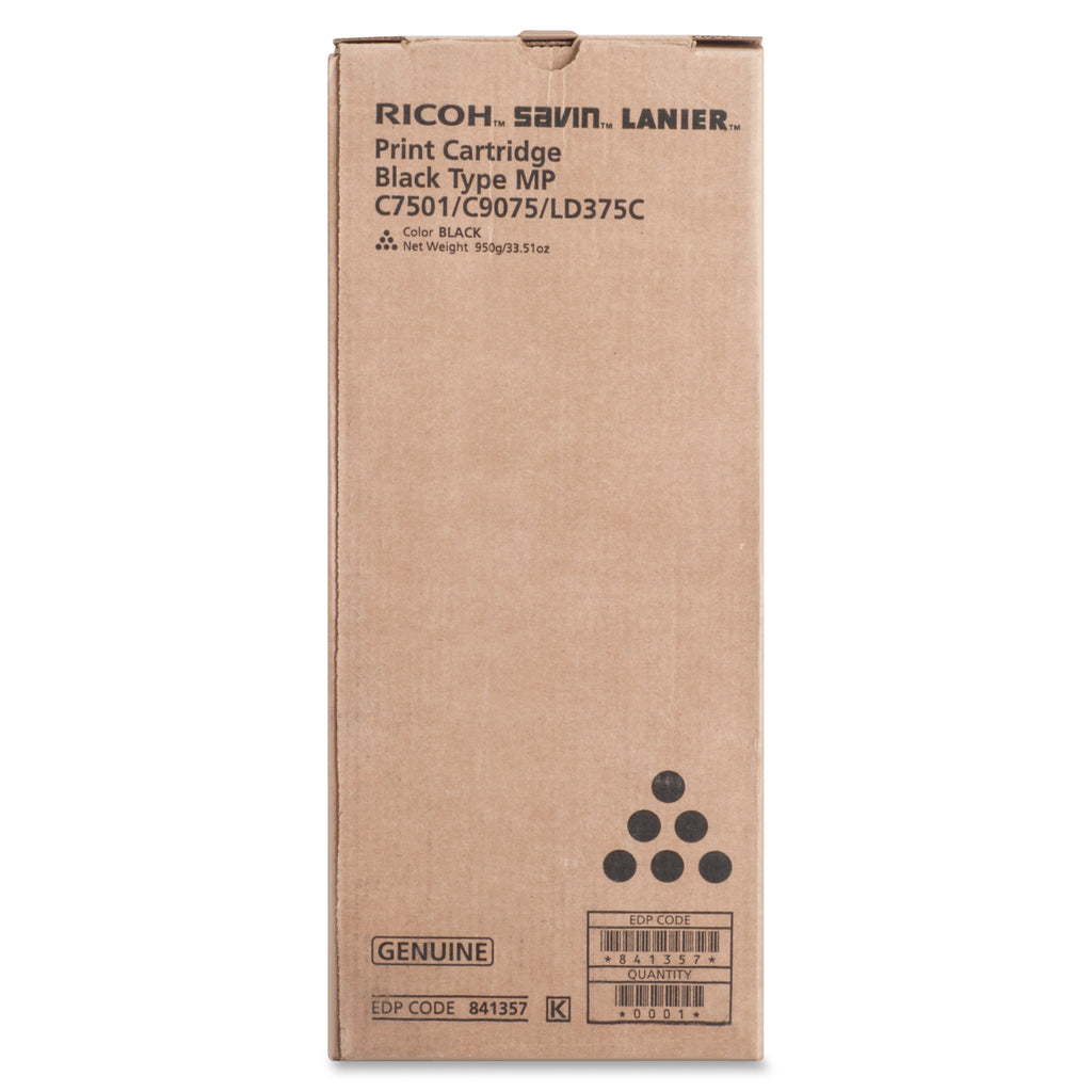 Ricoh 841357 Black Toner Cartridge