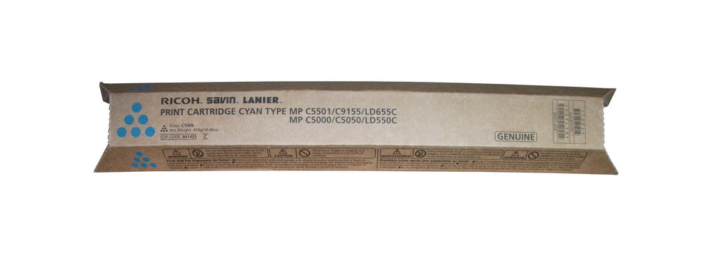 Ricoh 841455 Standard Yield Cyan Toner Cartridge