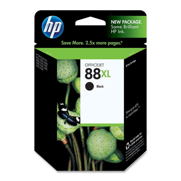 HP C9396AN  (88XL) High Yield Black Ink Cartridge