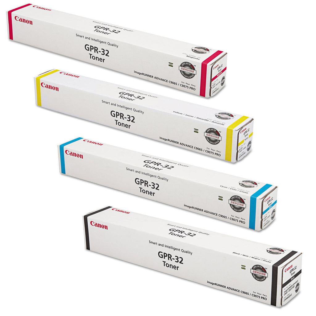 Canon GPR-32 Toner Cartridge Set for Canon imageRUNNER ADVANCE C9065 PRO, C9075 PRO, C9270 PRO, C9280 PRO