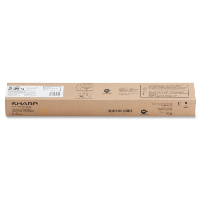 Sharp MX-51NT-YA Yellow Toner Cartridge
