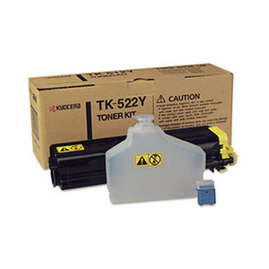 Kyocera TK-522Y Yellow Toner Cartridge