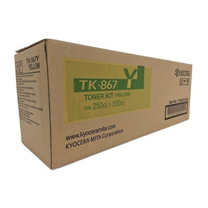 Kyocera TK-867Y Yellow Toner Cartridge