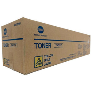 Konica Minolta TN-611Y Yellow Toner Cartridge
